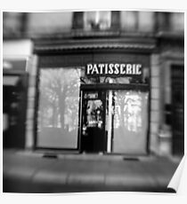 Patisserie - Grenoble, France Poster