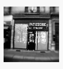 Patisserie - Grenoble, France Photographic Print