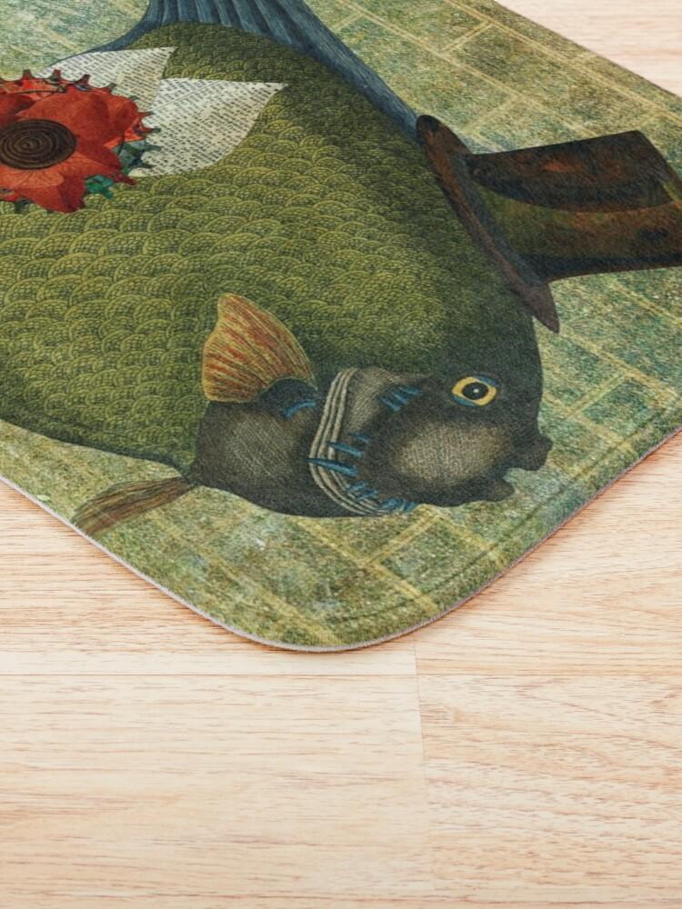 Alternate view of DADDY-O FISH Bath Mat
