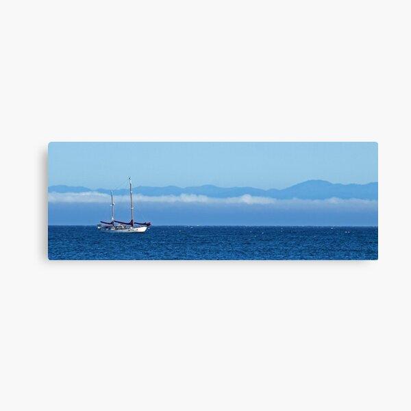 Santa Cruz Ketch Canvas Print
