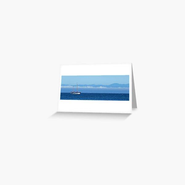 Santa Cruz Ketch Greeting Card