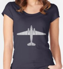 Douglas DC-3 Women's Fitted Scoop T-Shirt