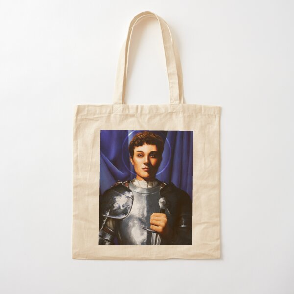 Joan of Arc Cotton Tote Bag