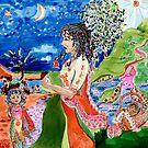 Flower Girl's Story by Helen Imogen Field