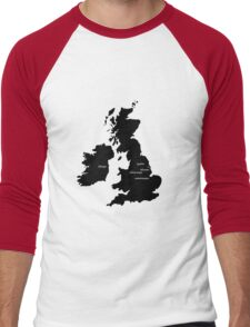 Hometowns Men's Baseball ¾ T-Shirt
