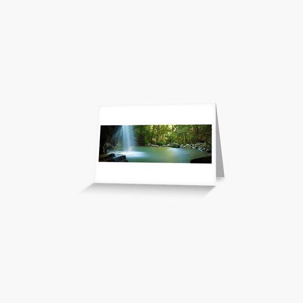 Buderim Falls, Sunshine Coast, Queensland, Australia Greeting Card