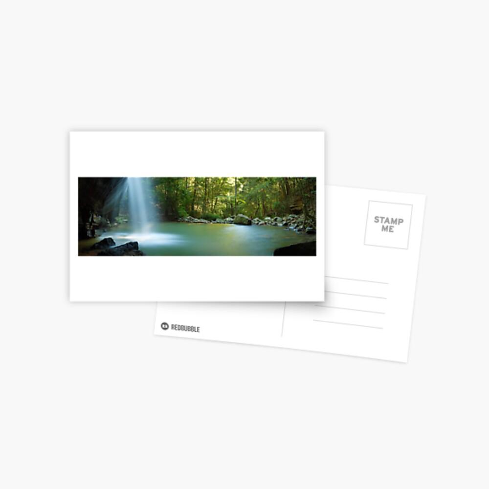 Buderim Falls, Sunshine Coast, Queensland, Australia Postcard