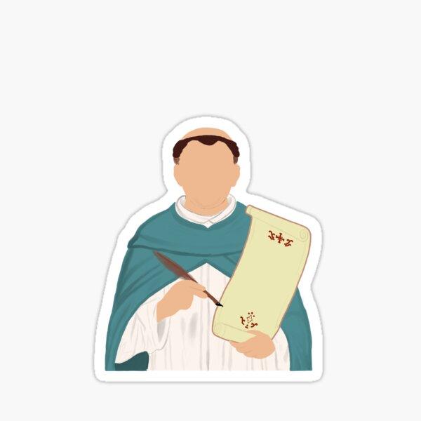 St. Thomas Aquinas Sticker