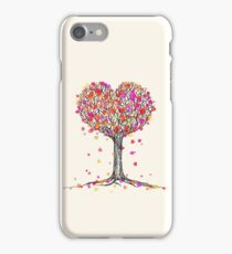 Love in the Fall iPhone Case/Skin
