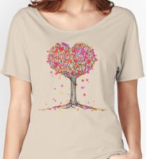 Love in the Fall Women's Relaxed Fit T-Shirt