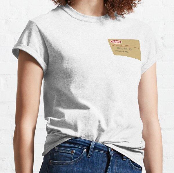 La carte du club de valeur Big Lebowski T-shirt classique