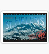 St Helens Stamp Sticker