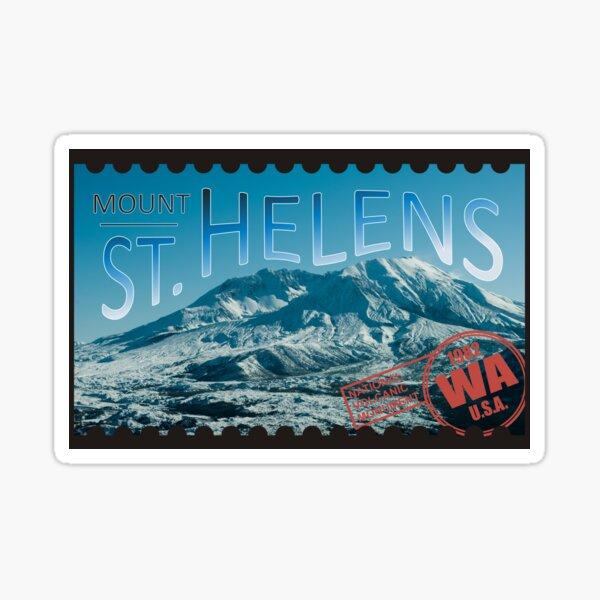 St Helens Stamp Sticker