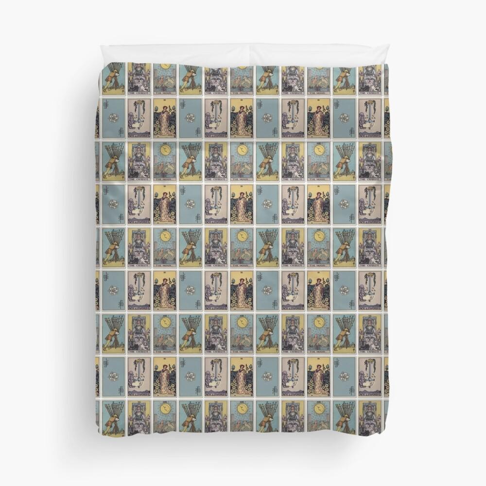 6 Tarot Card Duvet Cover
