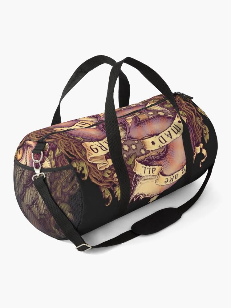Alternate view of CHESHIRE CAT Duffle Bag