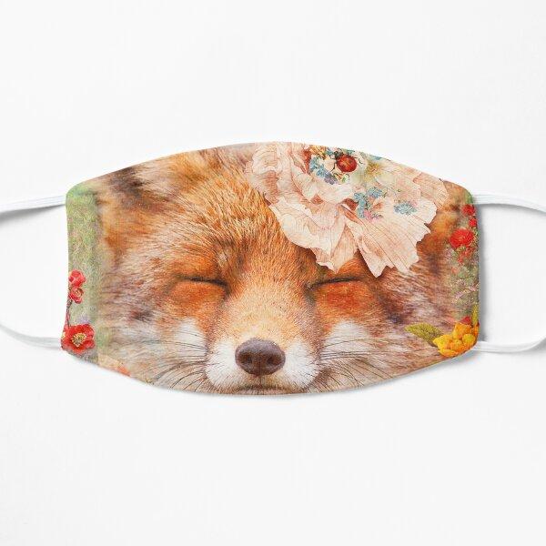 Happy Fox Flat Mask