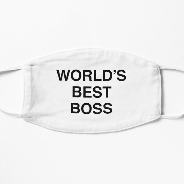 Michael Scott's World's Best Boss Mug Mask