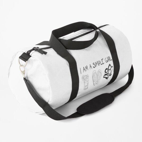 Simple Girl Duffle Bag