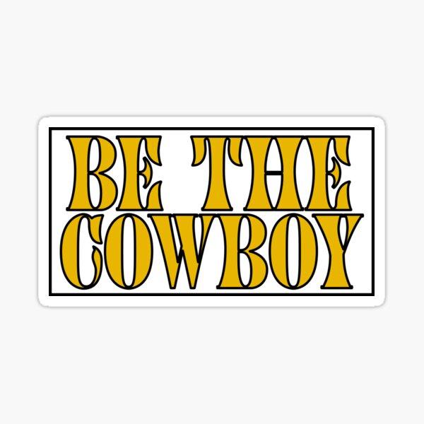 MITSKI BE THE COWBOY Sticker