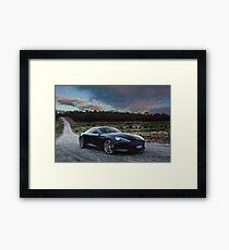Aston Martin DB9 Framed Print