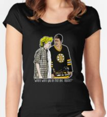 "Happy Gilmore - ""Where were you"" Women's Fitted Scoop T-Shirt"