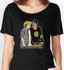 "Happy Gilmore - ""Where were you"" Women's Relaxed Fit T-Shirt"