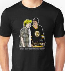 """Camiseta unisex Happy Gilmore - """"¿Dónde estabas?"""""""