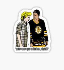 """Happy Gilmore - """"Where were you"""" Sticker"""