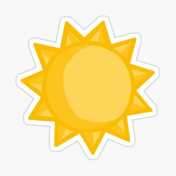 sun stickert Sticker