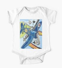 Corsair Snoopy the All Time Flying Ace One Piece - Short Sleeve