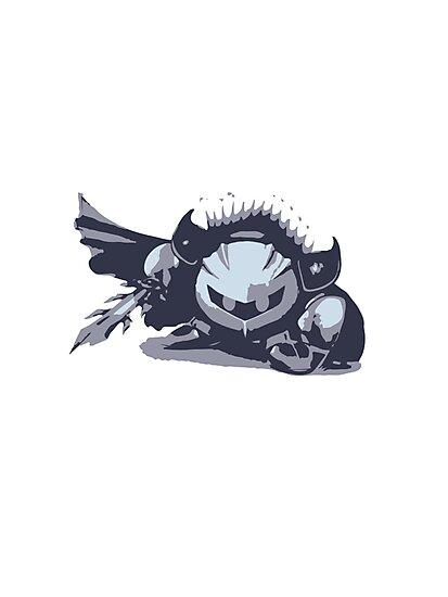 Minimalist Meta Knight from Super Smash Bros. Brawl by Himehimine
