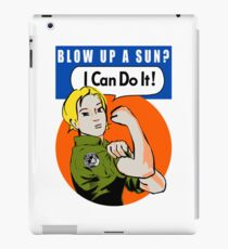 Blow up a sun? - I Can Do It! -iPad case iPad Case/Skin