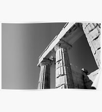 greece Architecture Poster