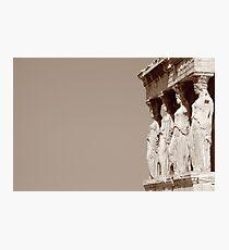 columnas-Architecture Photographic Print
