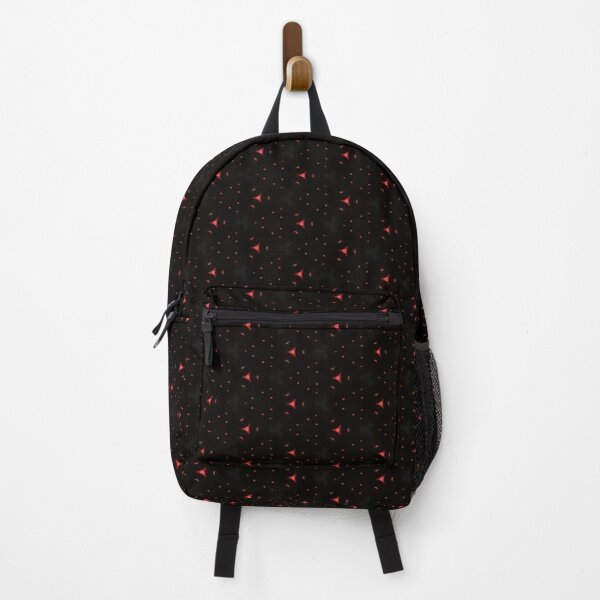 Red Spotted Futuristic Backpack