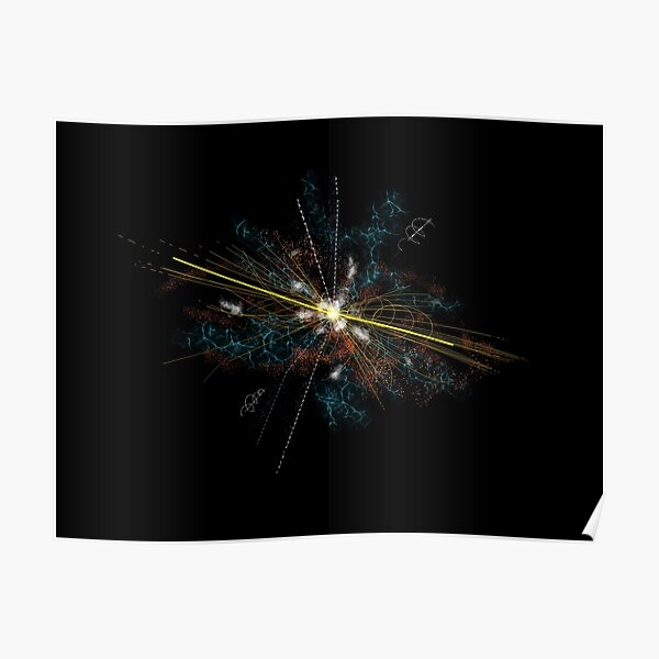 Higgs Boson elementary particle Poster