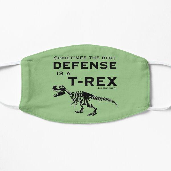 Defense Dinosaur Flat Mask