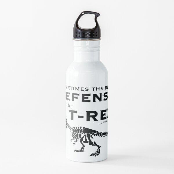 Defense Dinosaur Water Bottle