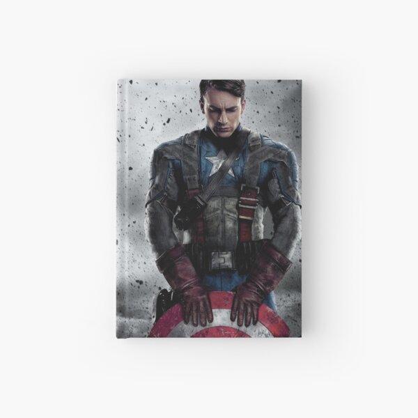 Captain America Hardcover Journal