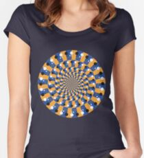 Take me for a spin Women's Fitted Scoop T-Shirt