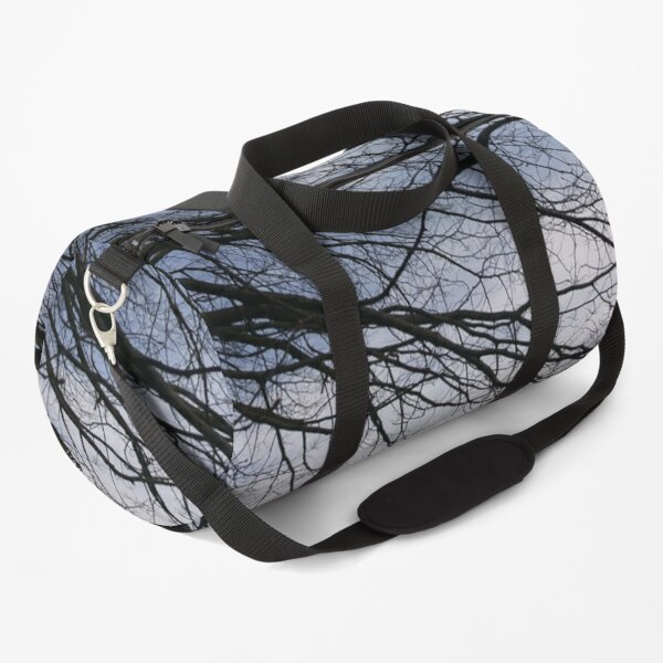 Bare branches, Hob Moor, York Duffle Bag
