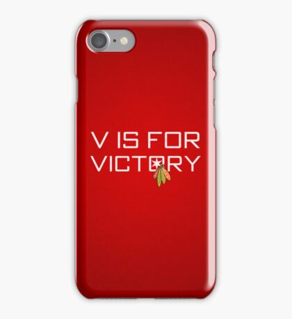V is for Victory iPhone Case/Skin