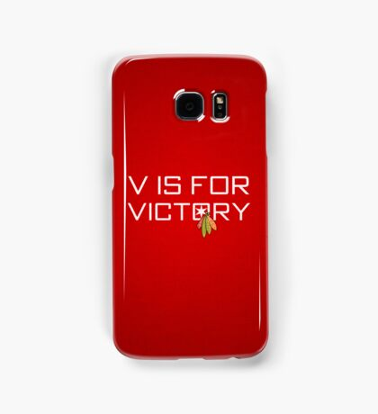V is for Victory Samsung Galaxy Case/Skin