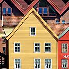 Bergen, Norway by Robert Dettman