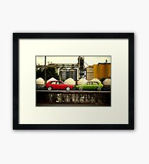 Bumper to Bumper Framed Print