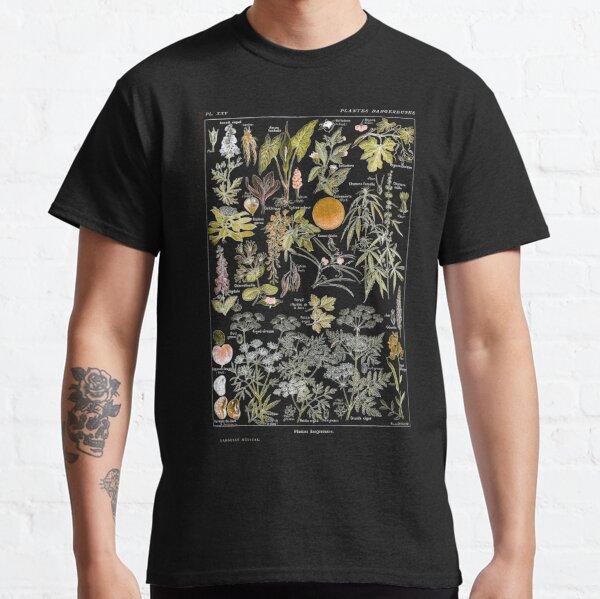 Adolphe Millot - Plantes dangereuses B (dangerous plants B) Classic T-Shirt