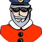 Santa Cop by elledeegee
