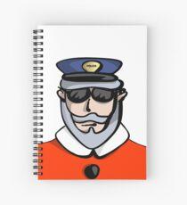 Santa Cop Spiral Notebook