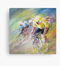 Yellow Triumph Canvas Print