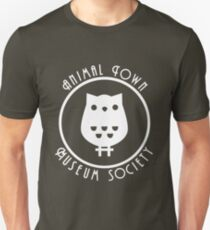 Animal Town Museum Society Slim Fit T-Shirt